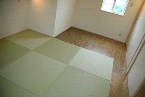 和室と洋室の融合